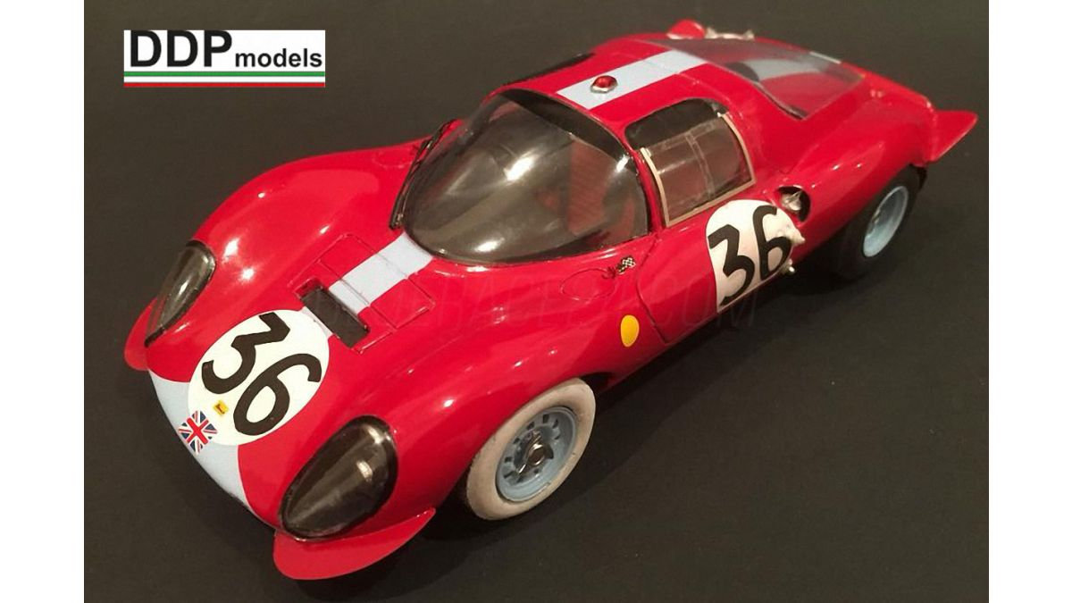 Ferrari Dino 206s Le Mans 1966 1 24