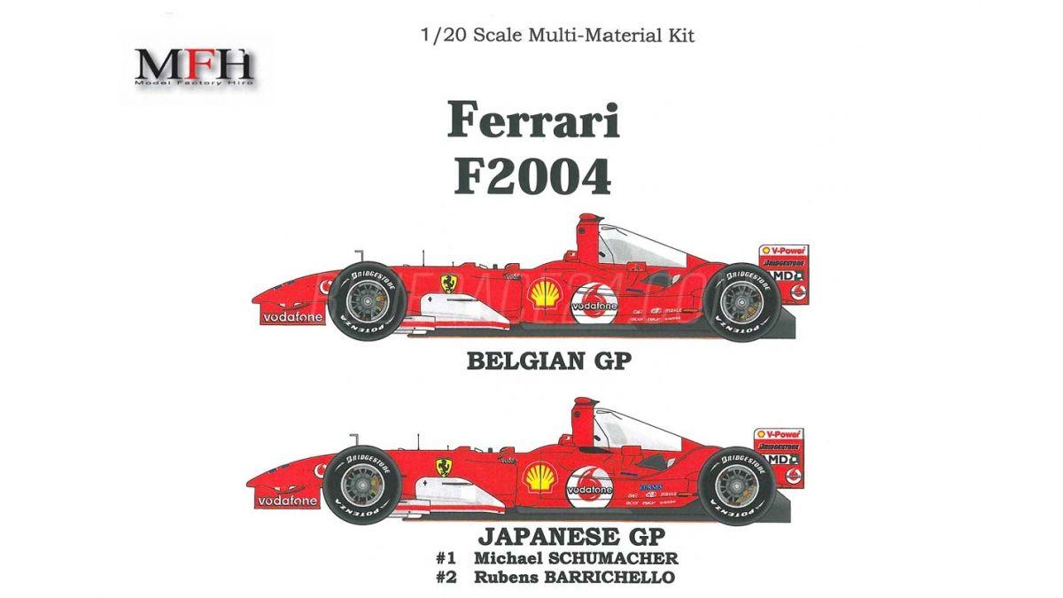 Ferrari F2004 German Hungarian Gp 2004 1 20