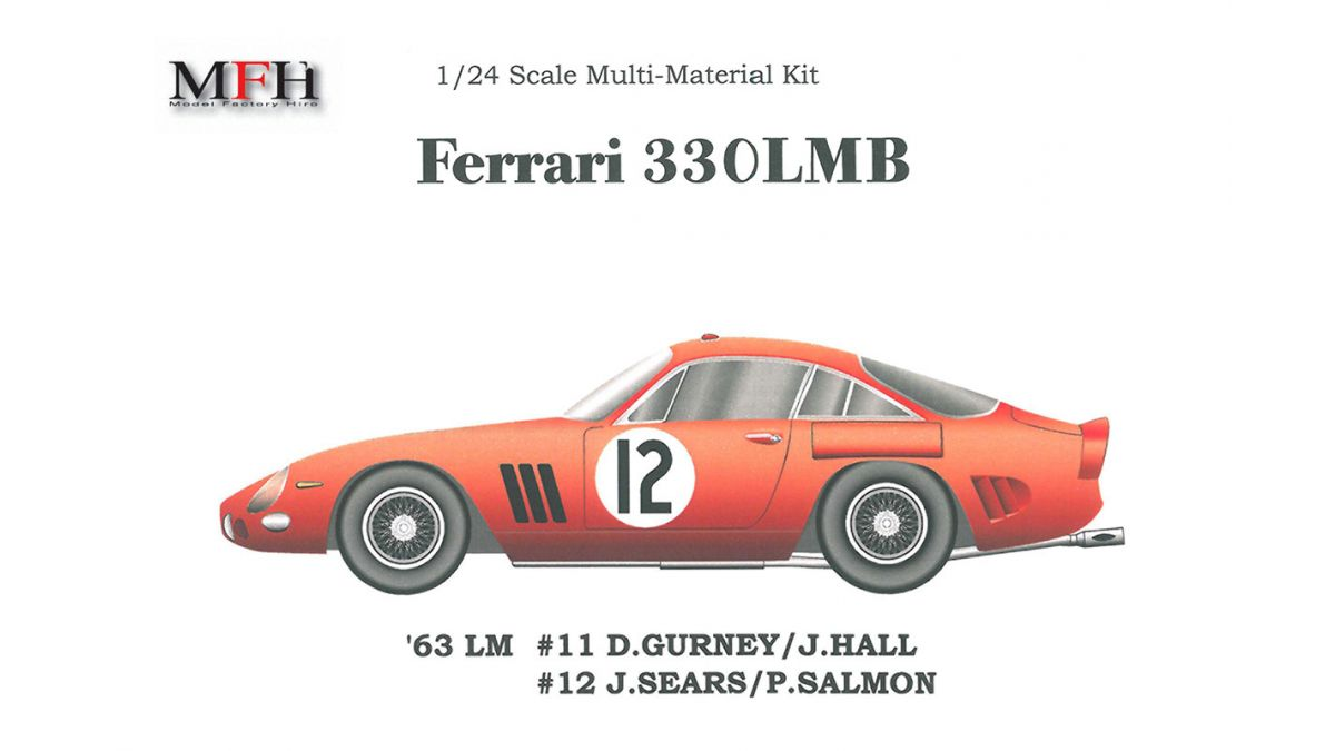 Ferrari 330lmb Le Mans 24 Hours 1963 1 24