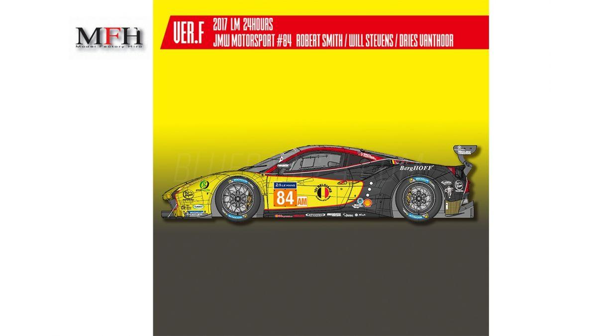Ferrari 488 Gte 84 Le Mans 2017 1 24