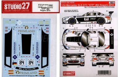 "Mercedes SLS GT3 ""HTP"" Nogaro 2014 #84"