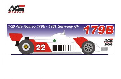 Alfa Romeo 179B German Grand Prix 1981 1/20 - ACE - ACE-20009