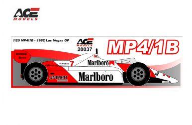 McLaren MP4/1B USA/Las Vegas Grand Prix 1982 1/20 - ACE Models - ACE-20037