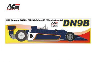 Shadow DN9B Belgium Grand Prix 1979 1/20 - ACE Models - ACE-20015