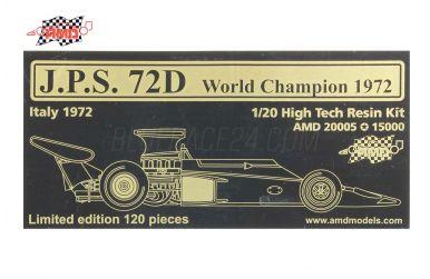 Lotus 72D Italy Grand Prix 1972 1/20 - AMD Models - AMD-20005