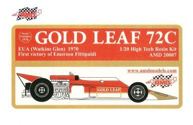 Lotus 72C U.S.A. Grand Prix 1970 1/20 - AMD Models - AMD-20007