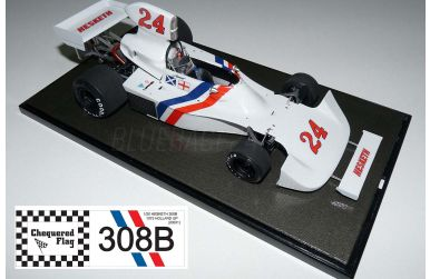 Hesketh 308B Holland Grand Prix 1975 1/20 - Chequered Flag - CHF-20001