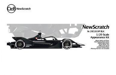 Porsche 99X Electric Testcar Formel E 2019/20 - CtoB/NewScratch - NS-20E1819PBLK