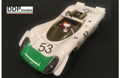 Jaguar D-Type #6 Le Mans 1955 1/24 - Fisher Model & Pattern - FIS-2401