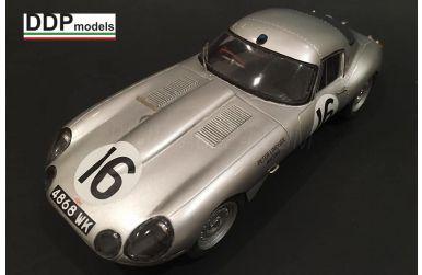 Jaguar E-type Lightweight Le Mans 24 Hours 1964 1/24 - DDP Models - DDP-055