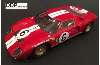 Ford GT40 Filipinetti/Shelby Le Mans 1965 Transkit 1/24 - DDP models - DDP-TK008