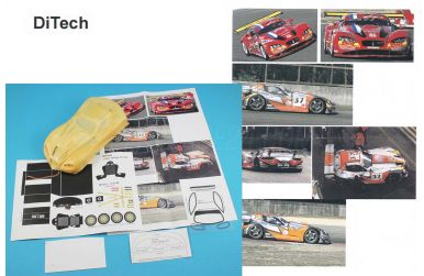 Gillet Vertigo GT2/GT3 2007/2008 1/24 - Ditech - DIT-13