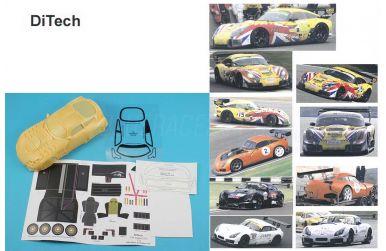 TVR Sagaris GT3 2008 1/24 Slot-Kit - Ditech - DIT-16