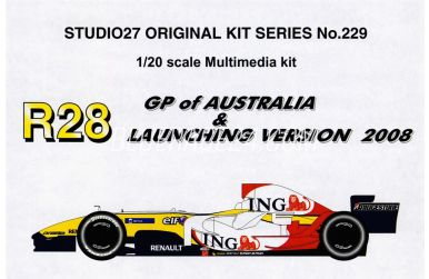 Renault R28 - GP Australien - Studio 27 - ST27-FK229C