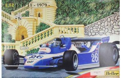 Ligier JS11 Belgian/Monaco Grand Prix 1979 1/12 - Heller - HEL-80790