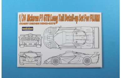 McLaren F1 GTR Long Tail - Detail-up Set für Fujimi - Hobby Design - HD02-0275