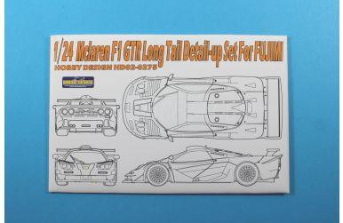 McLaren F1 GTR Long Tail - Detail-up Set für Fujimi - Hobby Design - HD02-0275