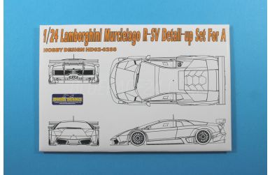 Lamborghini Murcielago R-SV Detail-up Set für Aoshima - Hobby Design - HD02-0288
