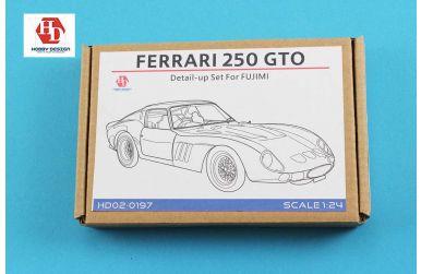 Ferrari 250 GTO Detail-up Set für Fujimi - Hobby Design - HD02-0197
