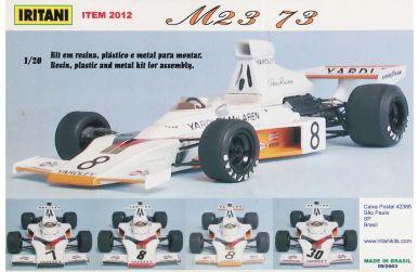 McLaren M23 Formula One World Championship 1973 1/20 - Iritani - IRM-2012