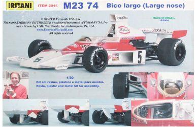 McLaren M23 Formula One World Championship 1974 1/20 - Iritani - IRM-2015