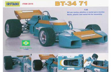Brabham BT34 Race of Champions 1971 1/20 - Iritani - IRM-2016