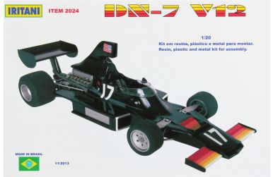Shadow DN7 V12 Austria / Italy Grand Prix 1975 1/20 - Iritani - IRM-2024