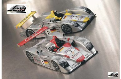 Audi R8 Winner #1 #2 Le Mans 2001 1/24