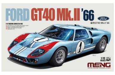 Ford GT40 MK. II Le Mans 1966 1/12 - Meng Models - MENG-RS-002