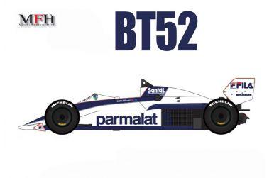 Brabham BT52 Early Season 1983 1/20 - Model Factory Hiro - MFH-K007
