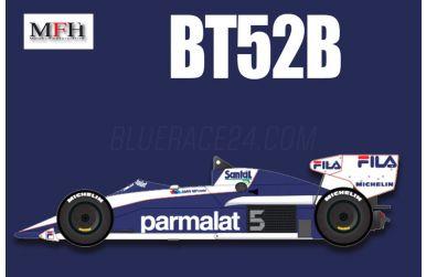Brabham BT52B Late Season 1983 1/20 - Model Factory Hiro - MFH-K014