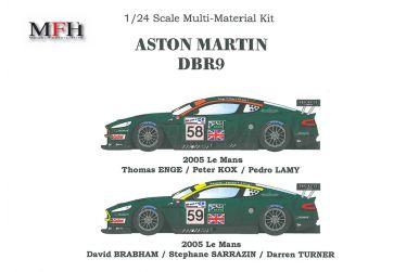 Aston Martin DBR9 #58 / #59 Le Mans 2005 1/24 - Model Factory Hiro - MFH-K126