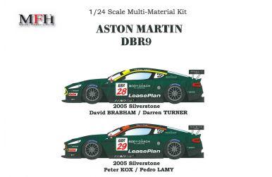 Aston Martin DBR9 Silverstone 2005 1/24 - Model Factory Hiro - MFH-K127