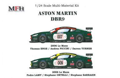 Aston Martin DBR9 #007 / 009 Le Mans 2006 1/24 - Model Factory Hiro - MFH-K131
