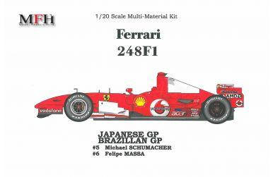 Ferrari 248F1 Japanese / Brazilian Grand Prix 2006 1/20 - Model Factory Hiro - MFH-K163