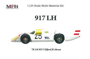 Porsche 917 Long Tail #25 Le Mans 1970 1/24 - Model Factory Hiro - MFH-K260