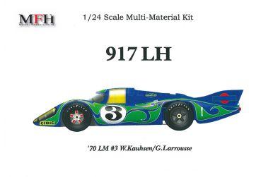 Porsche 917 Long Tail #3 Le Mans 1970 1/24 - Model Factory Hiro - MFH-K261