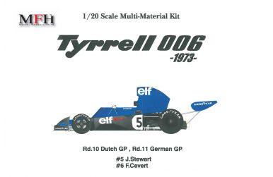 Tyrrell 006 Dutch / German GP 1973 1/20 - Model factory Hiro - MFH-K300