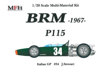 BRM P115 Italian GP 1967 1/20 - Model Factory Hiro - MFH-K308