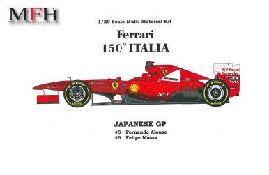 Ferrari F2008 Vers. A - Model Factory Hiro - MFH-K212