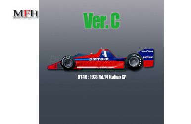 Brabham BT46 Italian Grand Prix 1978 (Ver. C) 1/12 - Model factory Hiro - MFH-K463