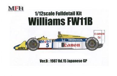 Williams FW11B Japanese Grand Prix 1987 1/12 - Model Factory Hiro - MFH-K473