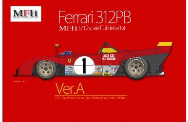 Ferrari 312PB Version A 1972 1/12 - Model Factory Hiro - MFH-K587