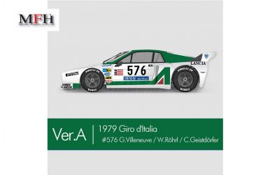 Lancia Beta Montecarlo Turbo Le Mans 1981 Ver. C - Model Factory Hiro - MFH-K669