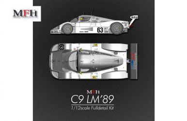 Sauber-Mercedes C9 Le Mans 1989 1/12 - Model Factory Hiro - MFH-K733