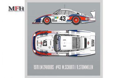 "Porsche 935/78 "" Moby Dick"" Le Mans 1978 1/12 - Model Factory Hiro - MFH-K740"