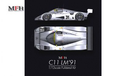 Mercedes C11 Le Mans 24 Hours 1991 1/12 - Model Factory Hiro - MFH-K748