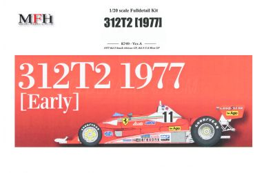 Ferrari 312T2 South African / U.S.A. West Grand Prix 1977 1/20 - Model Factory Hiro - MFH-K749