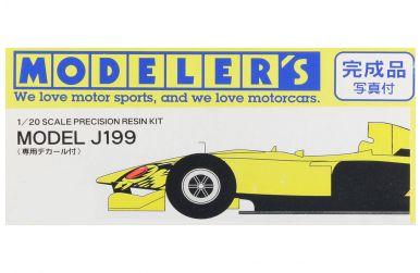 Jordan J199 Formula One World Championship 1999 1/20 - Modeler's - MOD-6212
