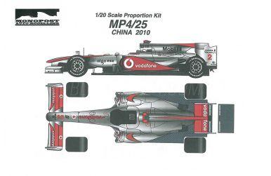 McLaren MP4/25 China Grand Prix 2010 1/20 - Monopost - MP-007